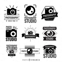 photography logo templates collection