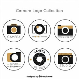 modern photo studio logo collection