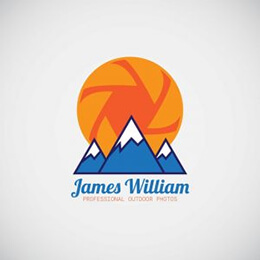 outdoor photographer logo