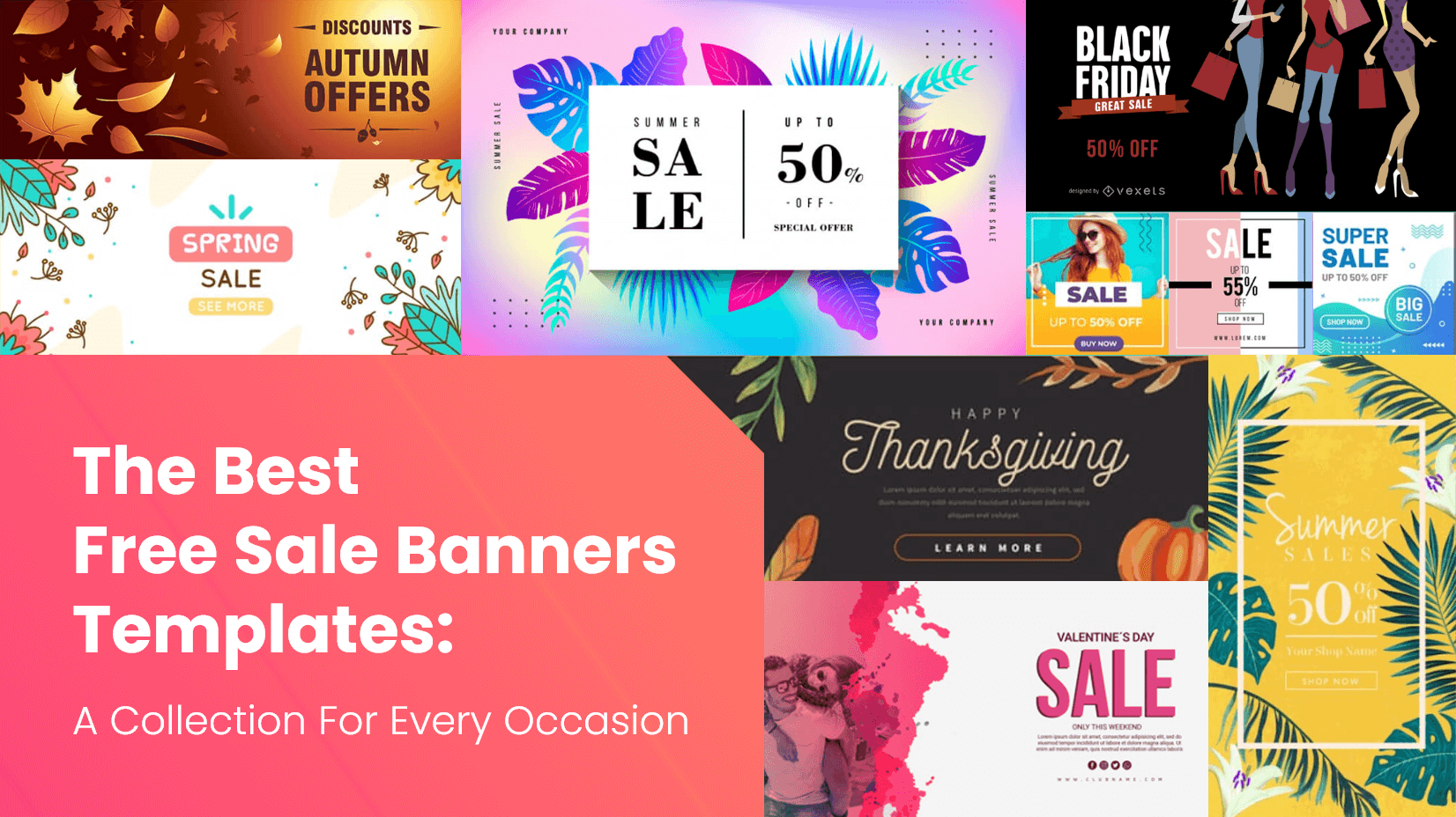 The Best Free Sale Banners Templates A Collection For Every