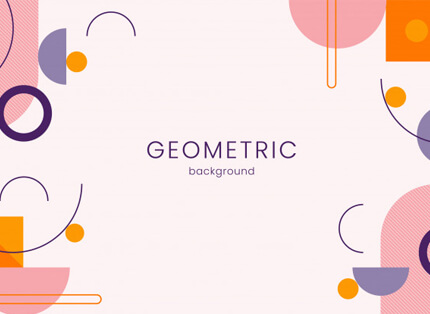 geometric free presentation background