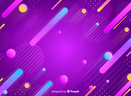 abstract colourful gradient shapes free presentation background