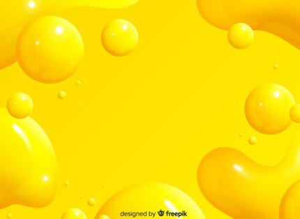 yellow orange monochrome realistic liquid free presentation background