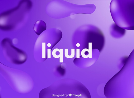 purple violet monochrome realistic liquid free presentation background