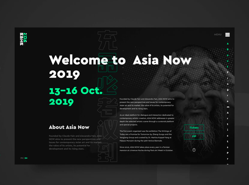 Asia Now Web 1 gray and green color combination 2020