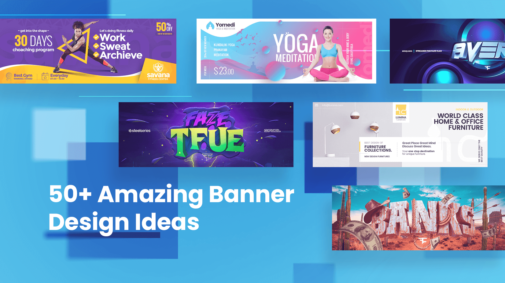 50+ Banner Design Ideas for Inspiration