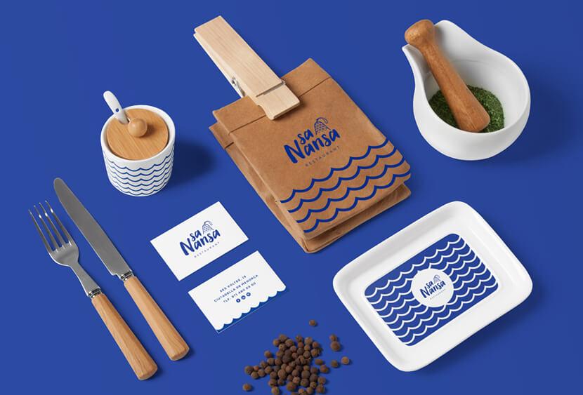 Restaurant Sa Nansa classic blue 2020