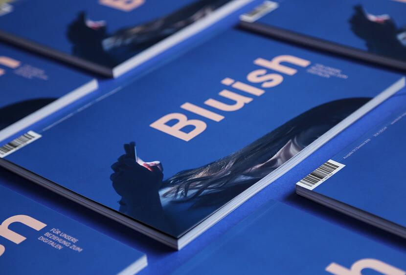 Bluish Magazin classic blue 2020