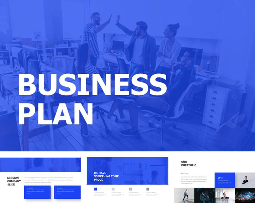 13 Free Business Plan Powerpoint Templates To Get Now Graphicmama Blog