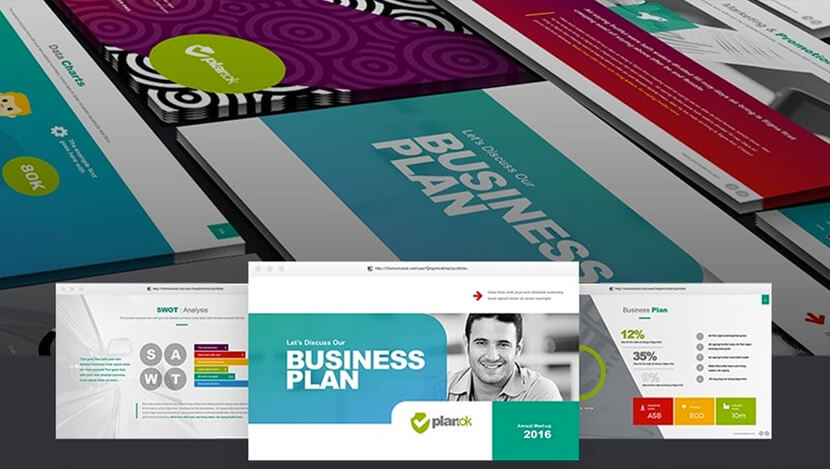 Free Business Powerpoint Template Cora