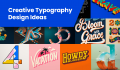 Creative Typography Design Ideas That Will Totally Amaze You