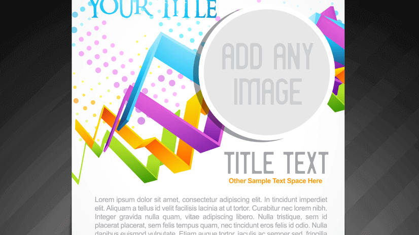 free universal flyer design