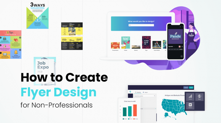 How to Create Flyer Design for Non-Professionals