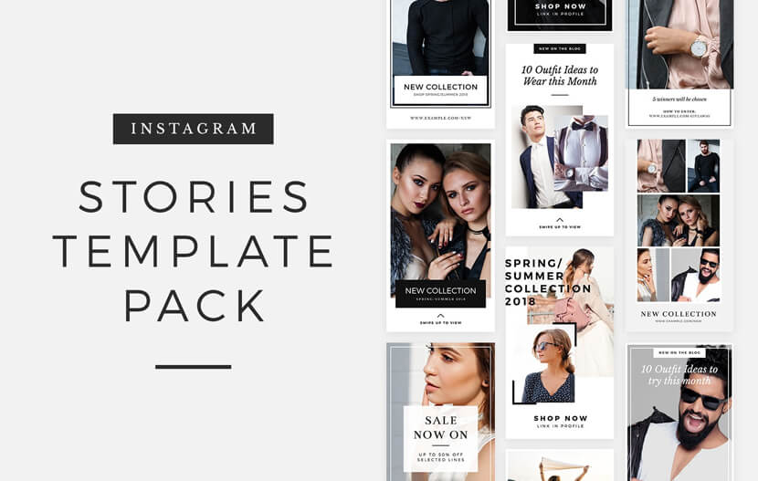 270 Free Instagram Story Templates To Grab The Attention In 2020 Graphicmama Blog