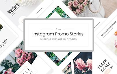 9 Minimalist Instagram Stories Templates