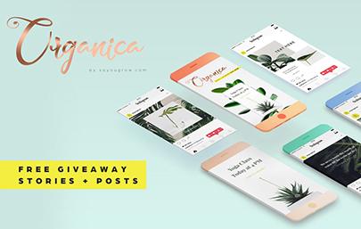 Organica Free Instagram Posts & Stories