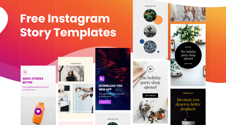 Free Instagram Story Templates 2020
