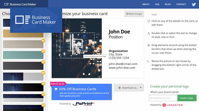BizCardMaker - Business Card Maker