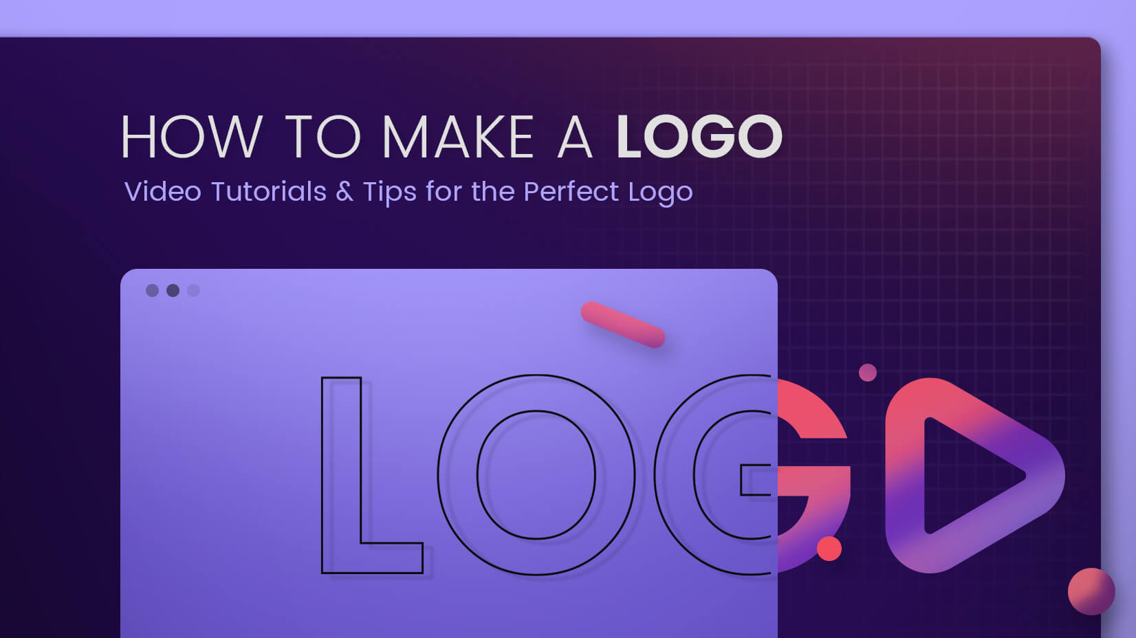 How to Make a Logo Video Tutorials and Tips