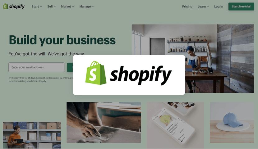Shopify ecommerce platform for online stores