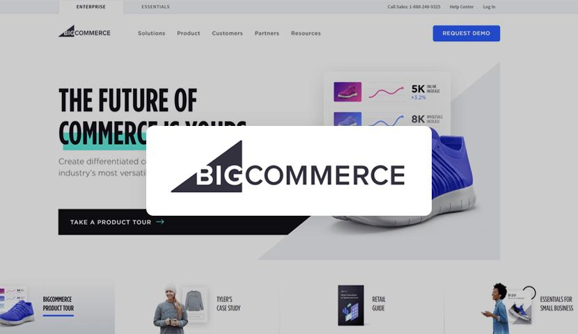 BigCommerce eCommerce platform for online stores