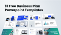 13 Free Business PlanPowerpoint Templates To Get Now