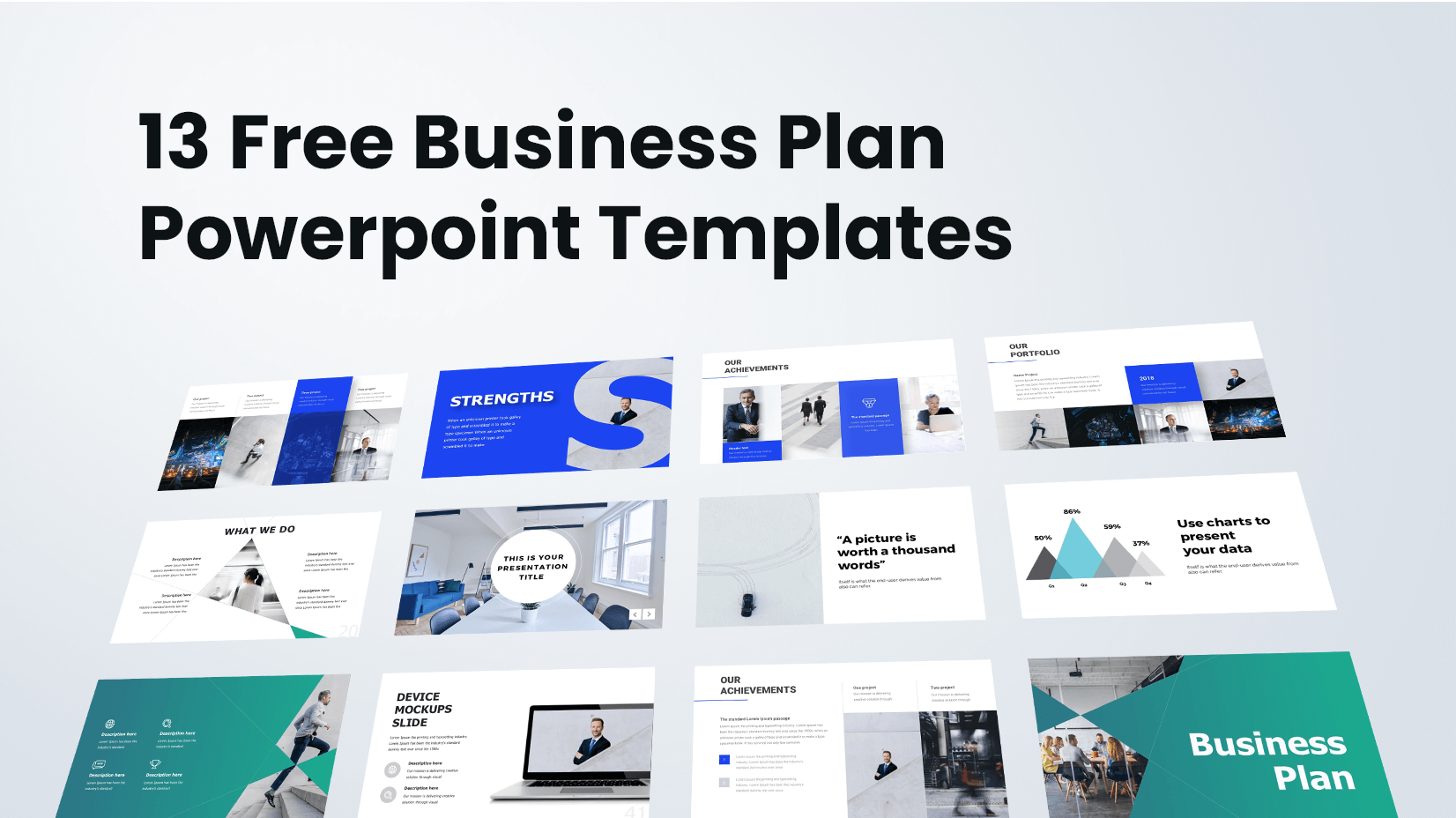 45 Free Business Powerpoint Templates And 14