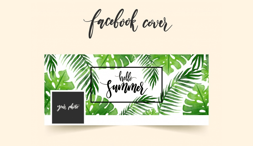 Free Facebook Cover Template by Freepik 1