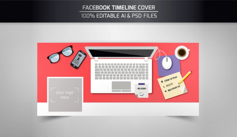 Free Facebook Cover Template by Freepik 2