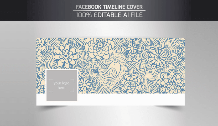 Free Facebook Cover Template by Freepik 3
