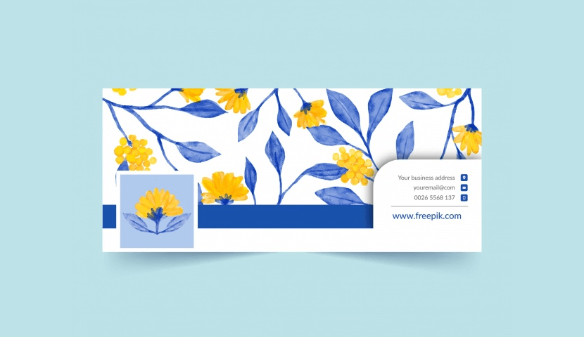 Free Facebook Cover Template by Freepik 6