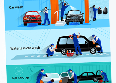 free car vector cleaning