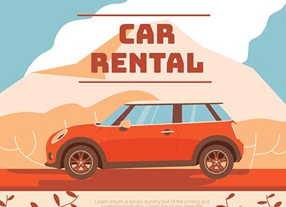 free car vector rental