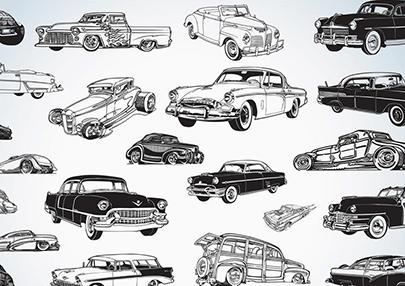 free car vector vintage