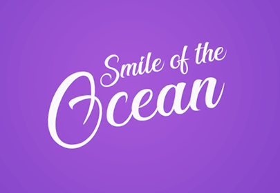 smile of the ocean free hand drawn font