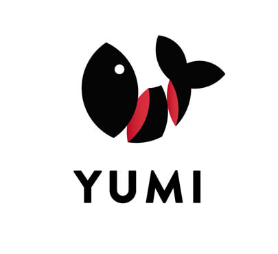 Chopped Fish Sushi Logo