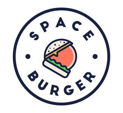 Space Burger logo