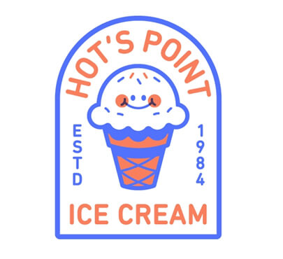 Hot-s Point logo design