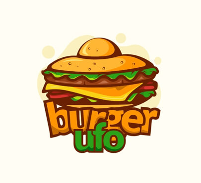 Burger Ufo Logo