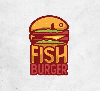 Fish Burger Logo