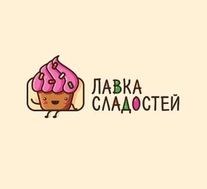 candy shop logo