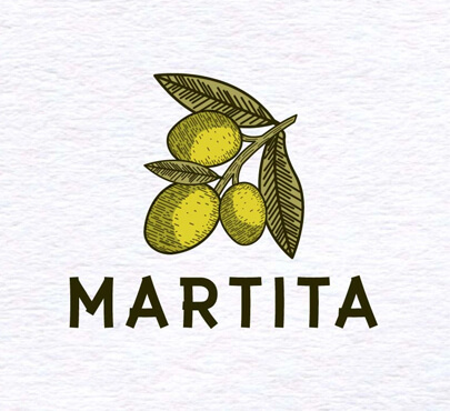 Martita Logo Olive Oil