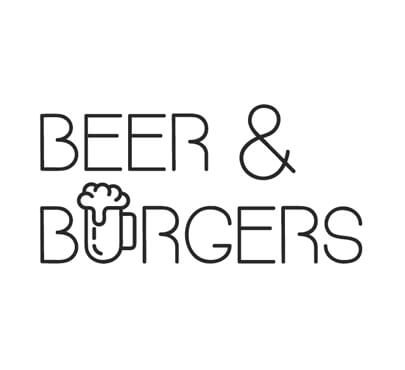 Beer And Burgers Logo Design
