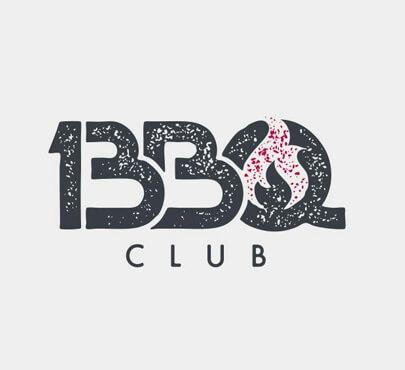 13 BBQ Club logotype