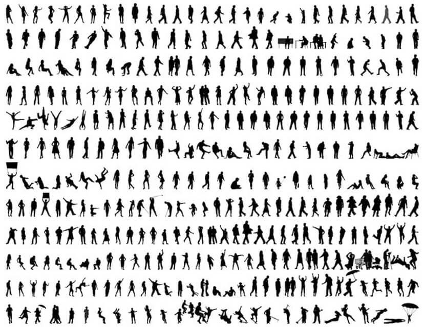 Free People Silhouettes Mega Set