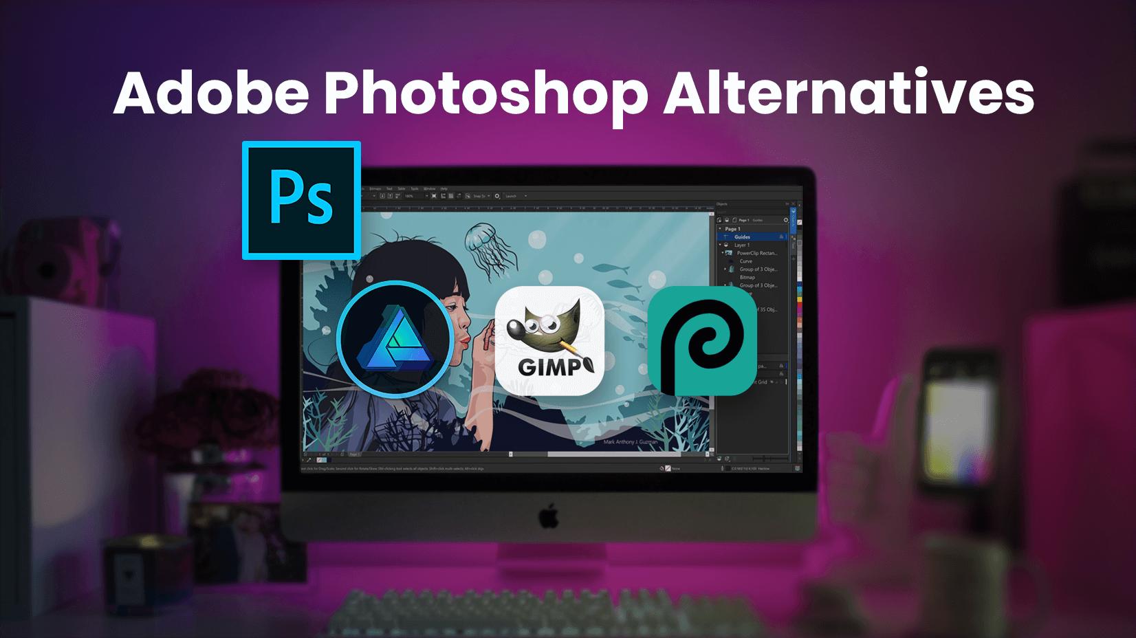 Top Adobe Photoshop Alternatives in 2021