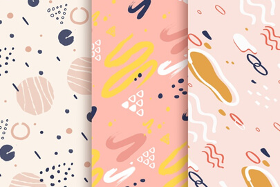 free background design with pattern collection