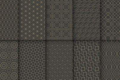 free geometric luxury patterns