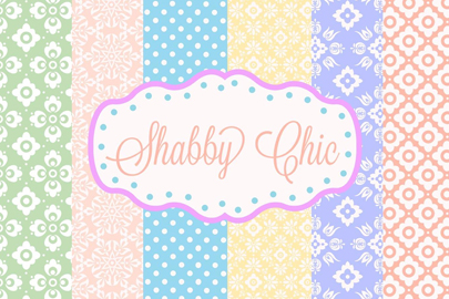 shabby chic patterns