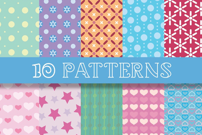 free chic patterns